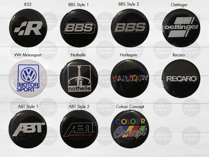 Image of Gel Coated Decals (Logos)
