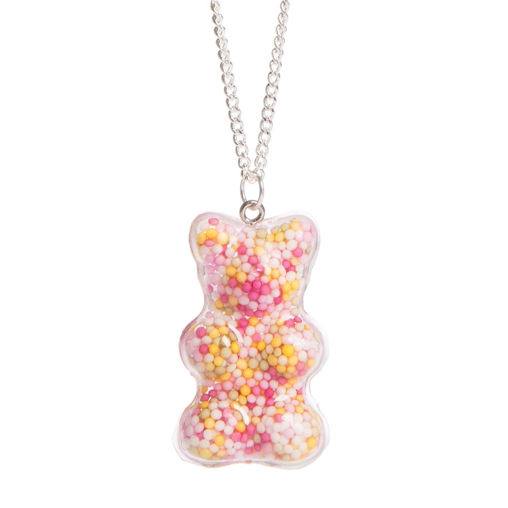 Image of Large Gummy Bear Sprinkle Necklace