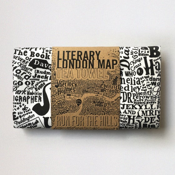 Image of Literary London Tea Towel (2016)