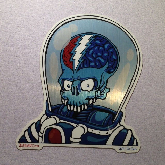 Image of Mars Hotel Sticker