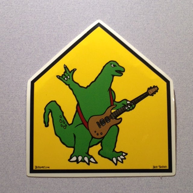 Image of School Zone Zila Sticker
