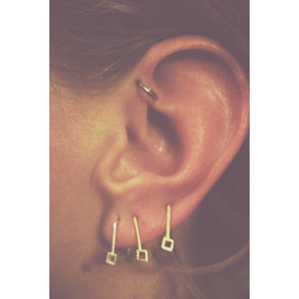 Image of The Ear Rings Silver