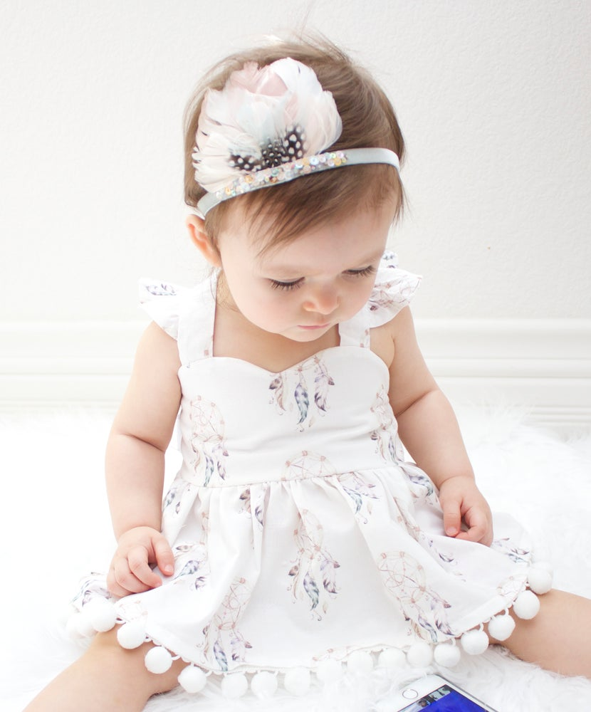 Image of Dreamcatcher Dress for Babies and Toddlers
