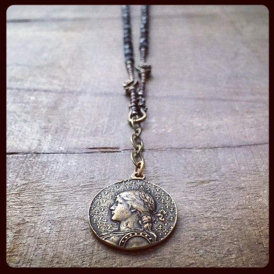 Image of ST. JOAN of ARC Necklace