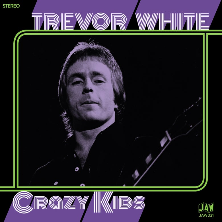 "Image of TREVOR WHITE ""Crazy Kids"" 7"" on black, green, purple, or white"