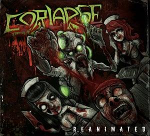 Image of GORLAPSE - REANIMATED CD DIGIPACK