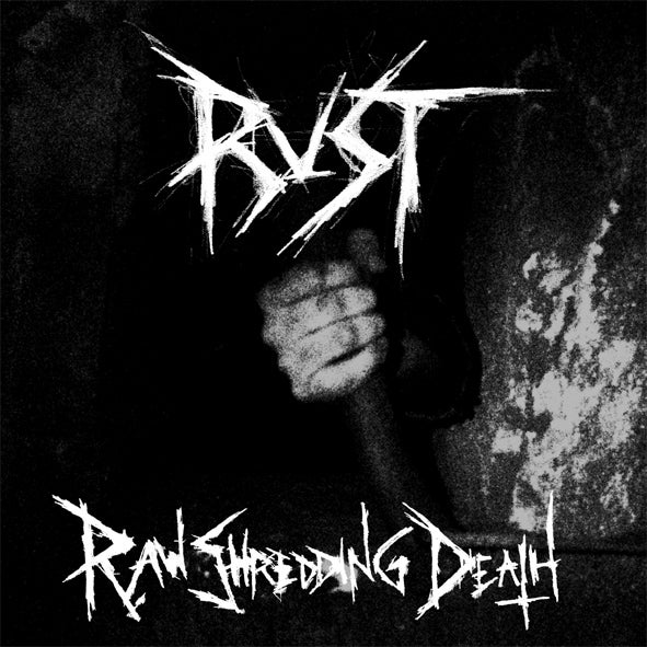 Image of Rust - Raw Shredding Death LP (blue or black)
