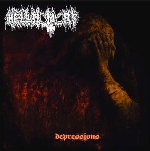 "Image of HELLNOMORF ""Depressions"" CD"