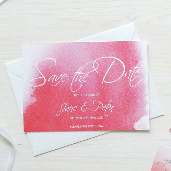 Image of Love Haze Bespoke Save The Date