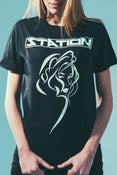 Image of Black Yvette T-Shirt (Men's/Women's Sizes)