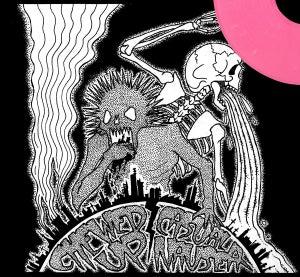 Image of Chewed Up/Casual Nausea Split (Pink Vinyl/CD) (£8/£4)