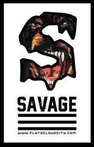 Image of Savage Dog Tee