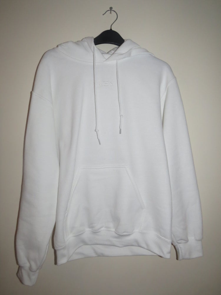 Image of Ares Baby Powder White Hoodie