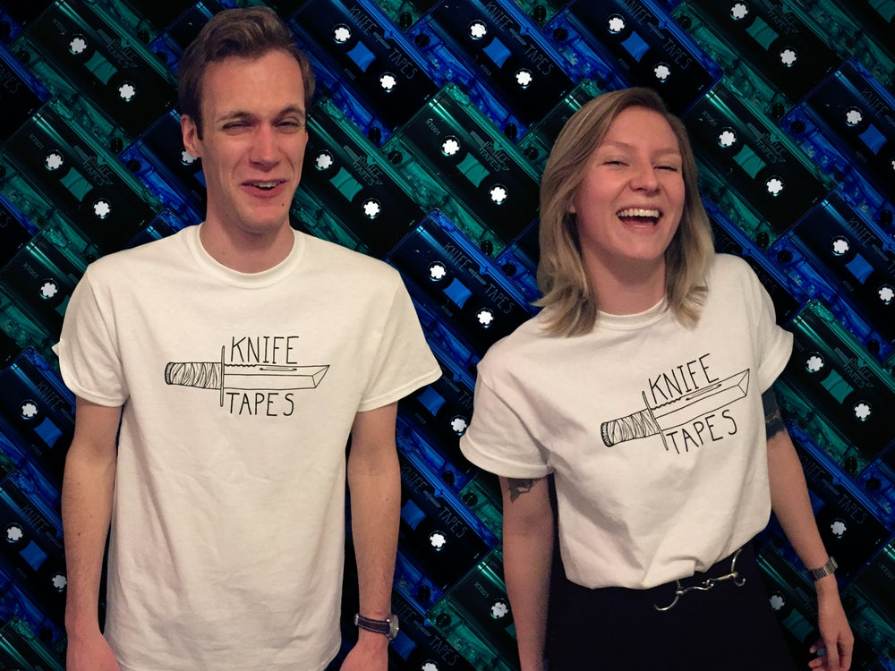 Image of Knife Tapes Tees