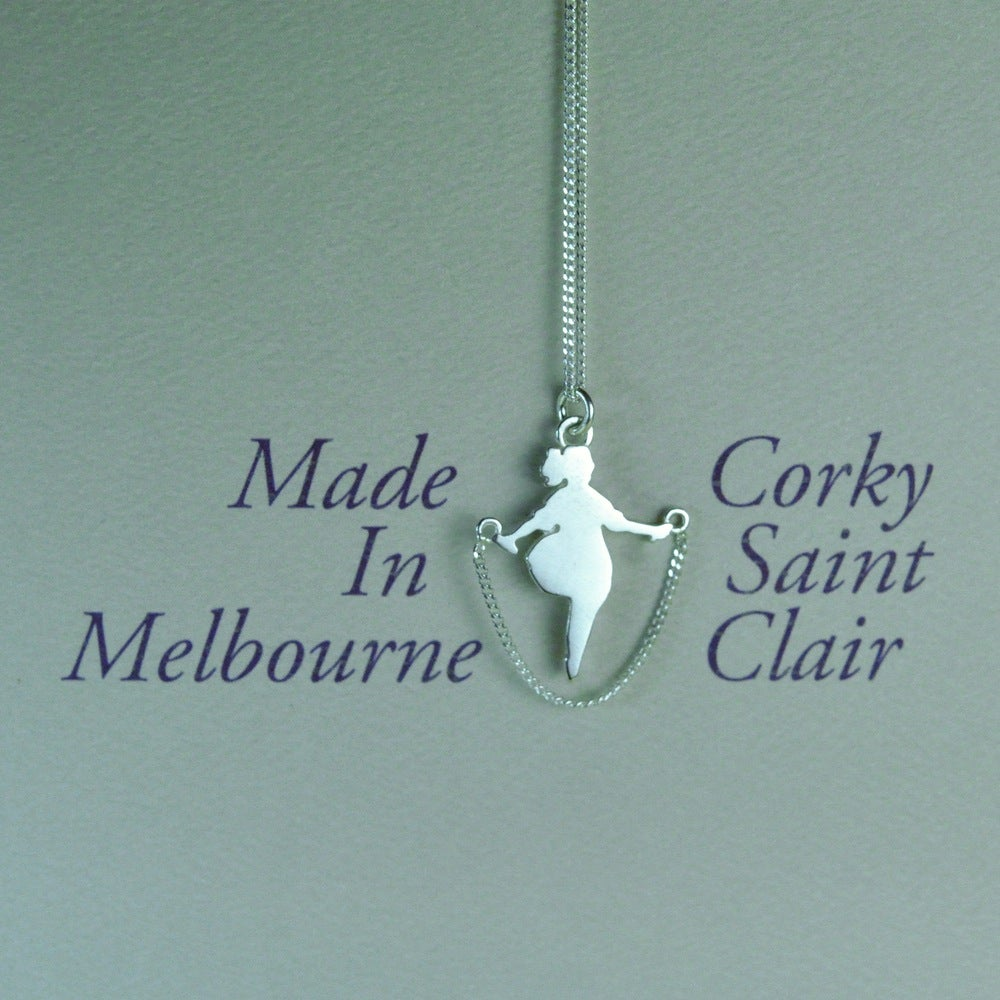 Image of Audrey - Skipping Girl Pendant