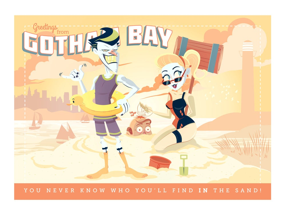 Image of Gotham Bay Print