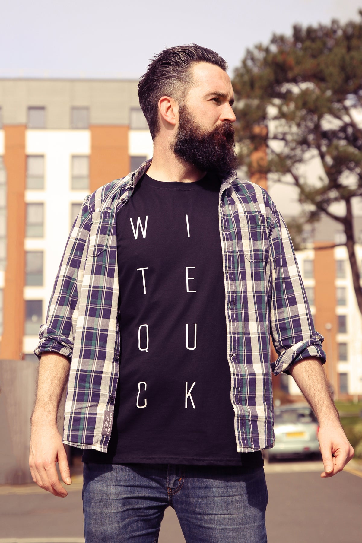 Image of WITTERQUICK Black T-Shirt