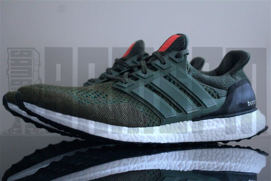 "Image of Adidas ULTRA BOOST LTD ""OLIVE"""