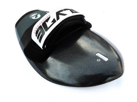 Image of The Hawaiian Bula Carbon Fiber Black HandBoard With GoPro Attachment
