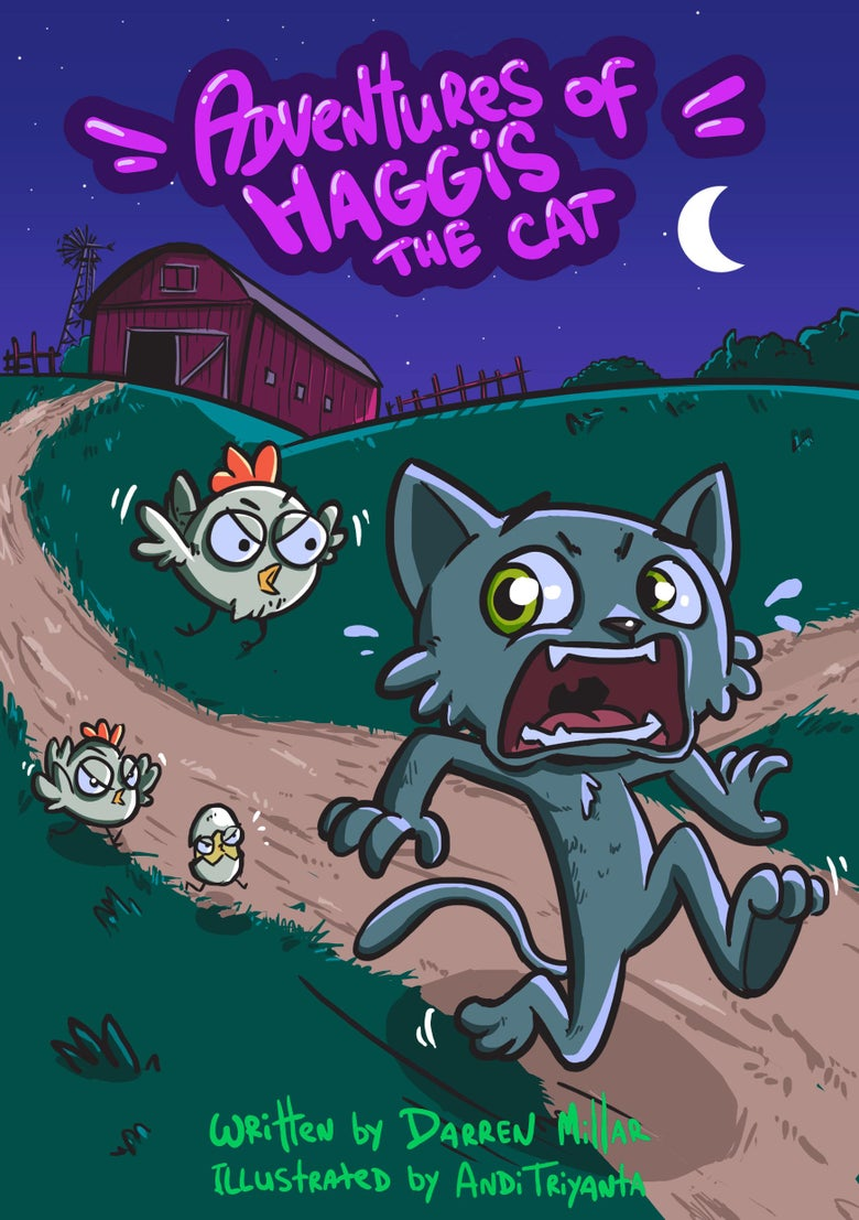 Image of Adventures of Haggis the Cat - Episode one