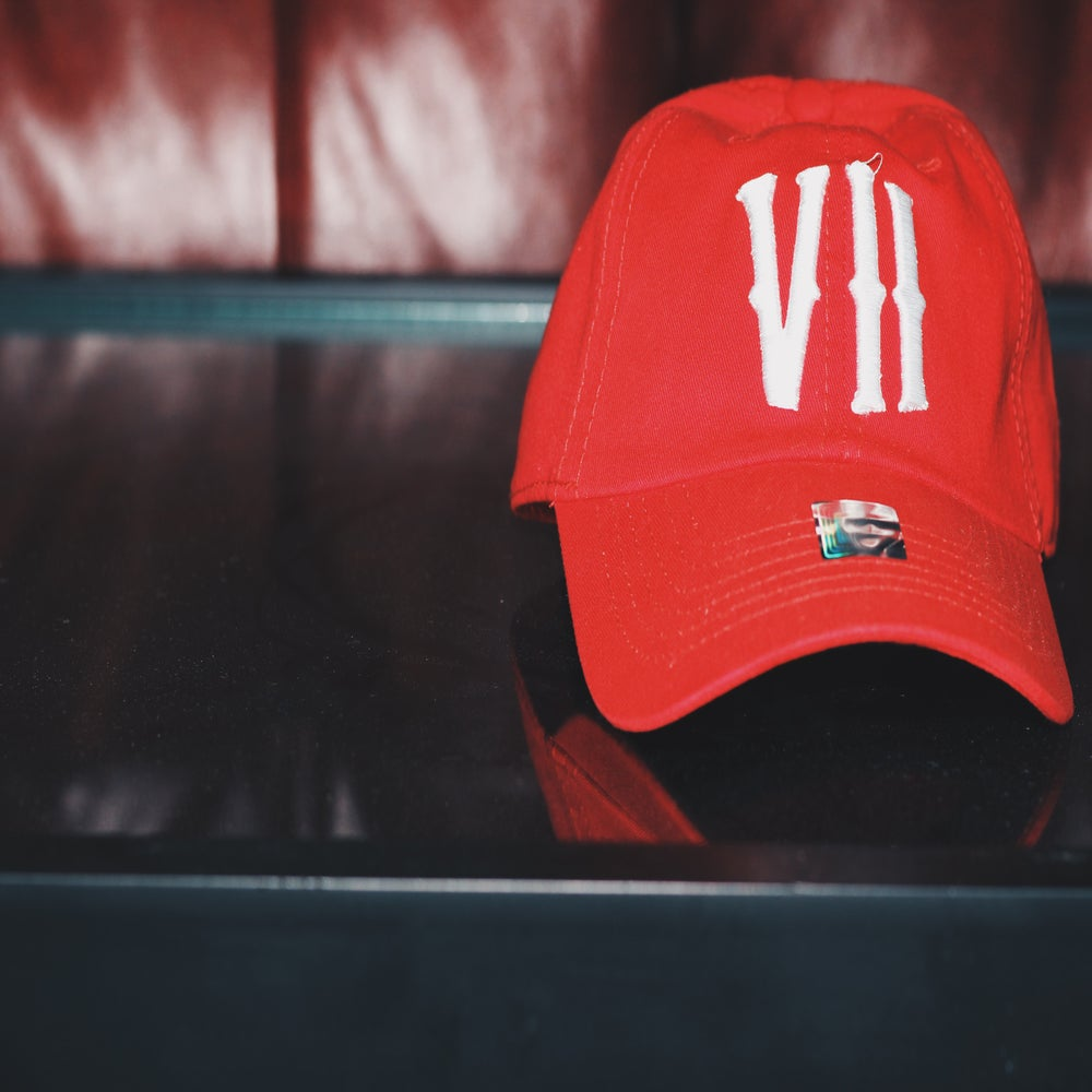 Image of VII Baseball Caps [Red]