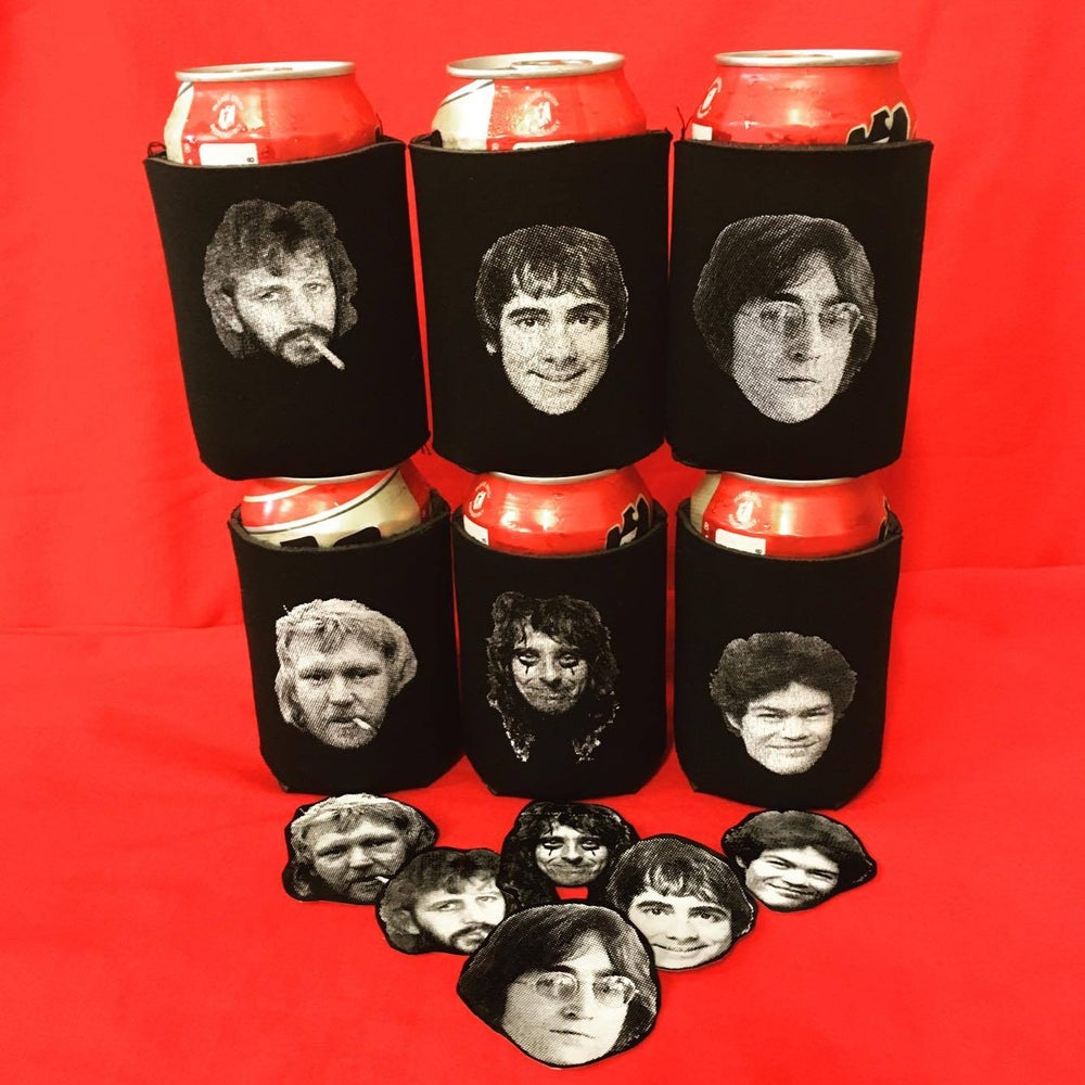 Image of Hollywood Vampires Club koozies (individual & 6-pack)