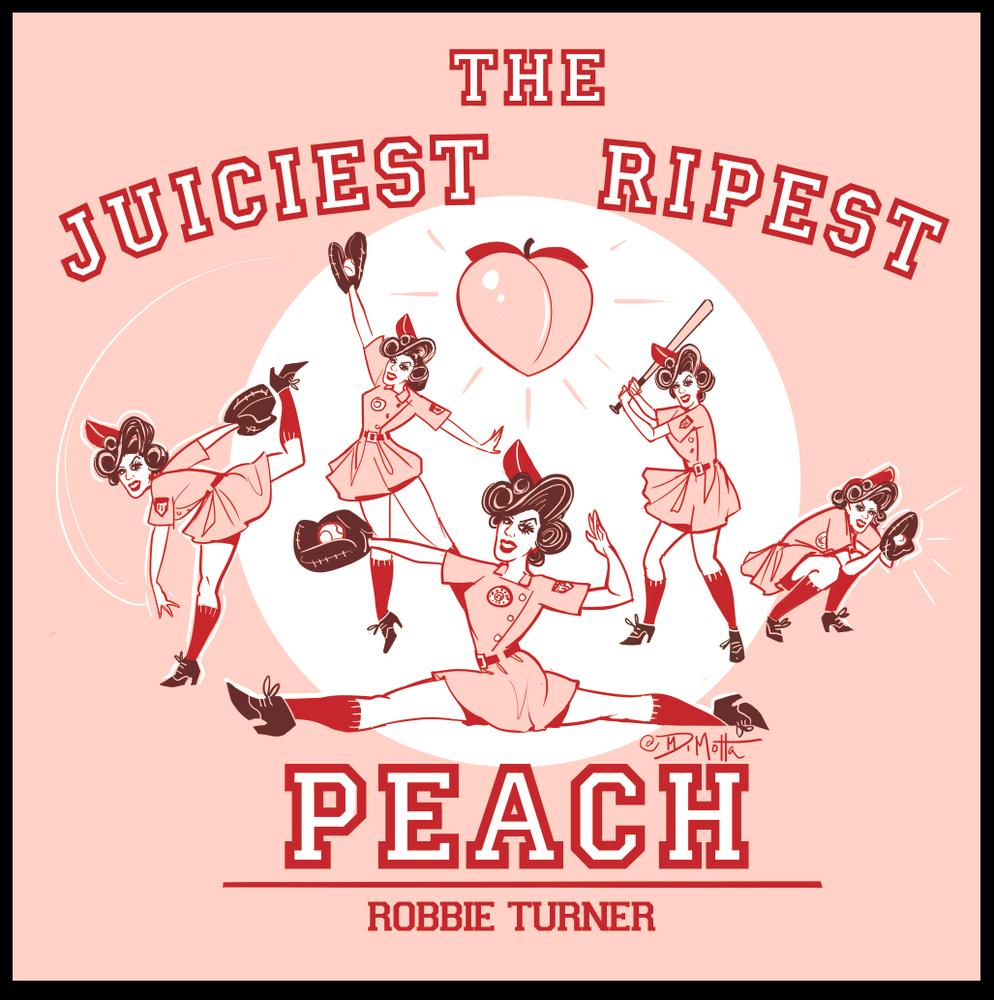 """Image of """"Juiciest Ripest Peach"""" Tee"""