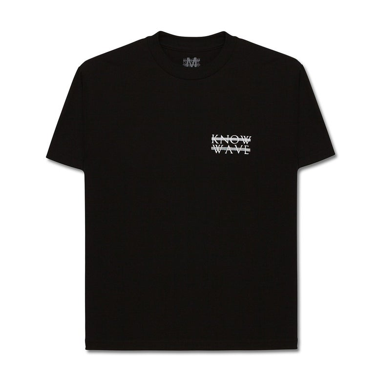 Image of Know Wave - Heart Logo Tee (Black)
