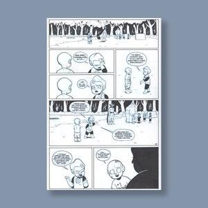 Image of *NEW* JL8 #200, p. 1 original art