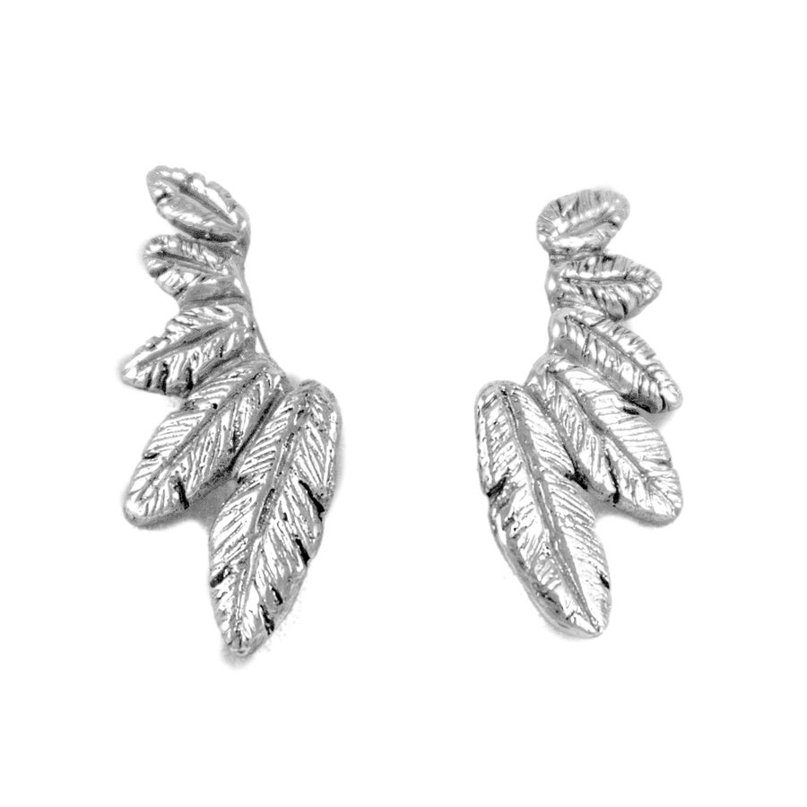 Image of Feathers of Honor Ear Cuff (Pair)