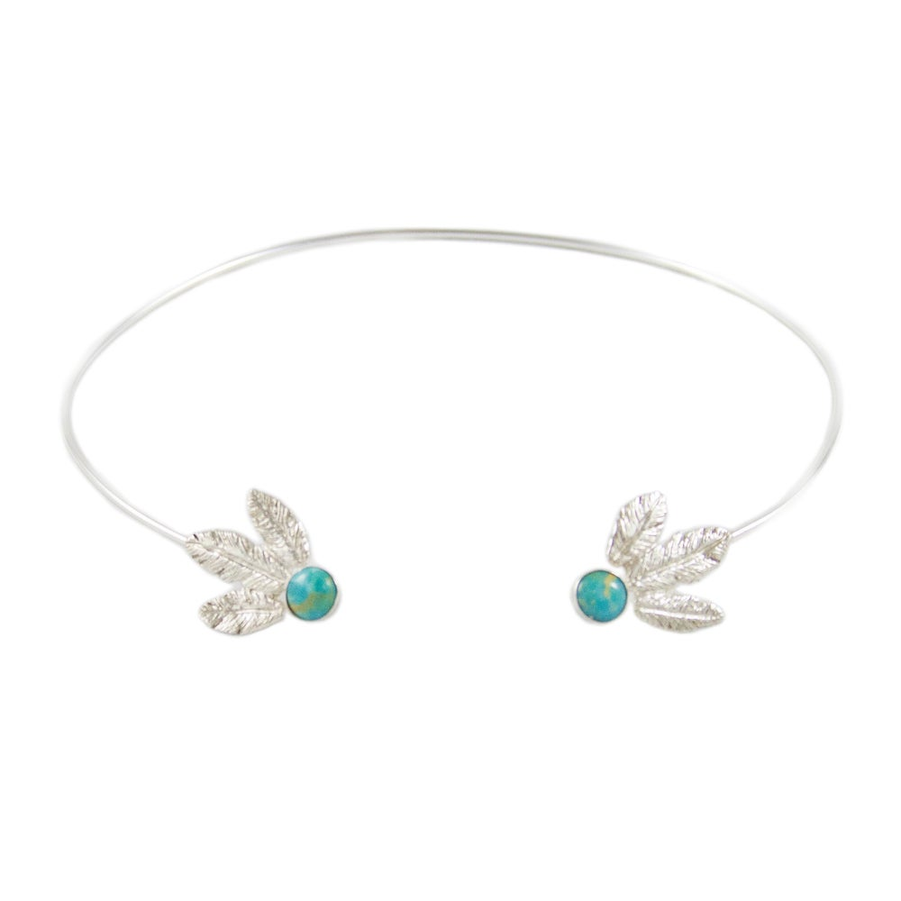 Image of Radiant Feathers Choker