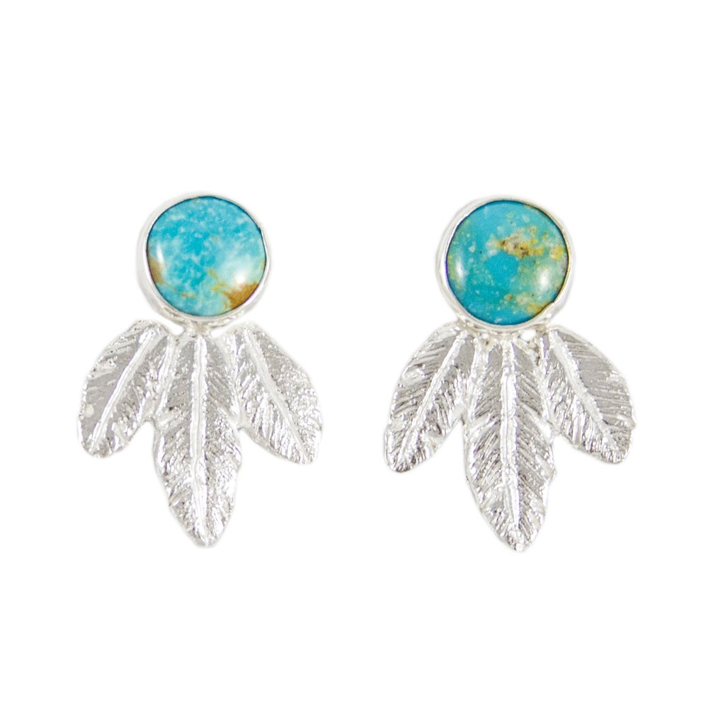 Image of Radiant Feathers Earrings