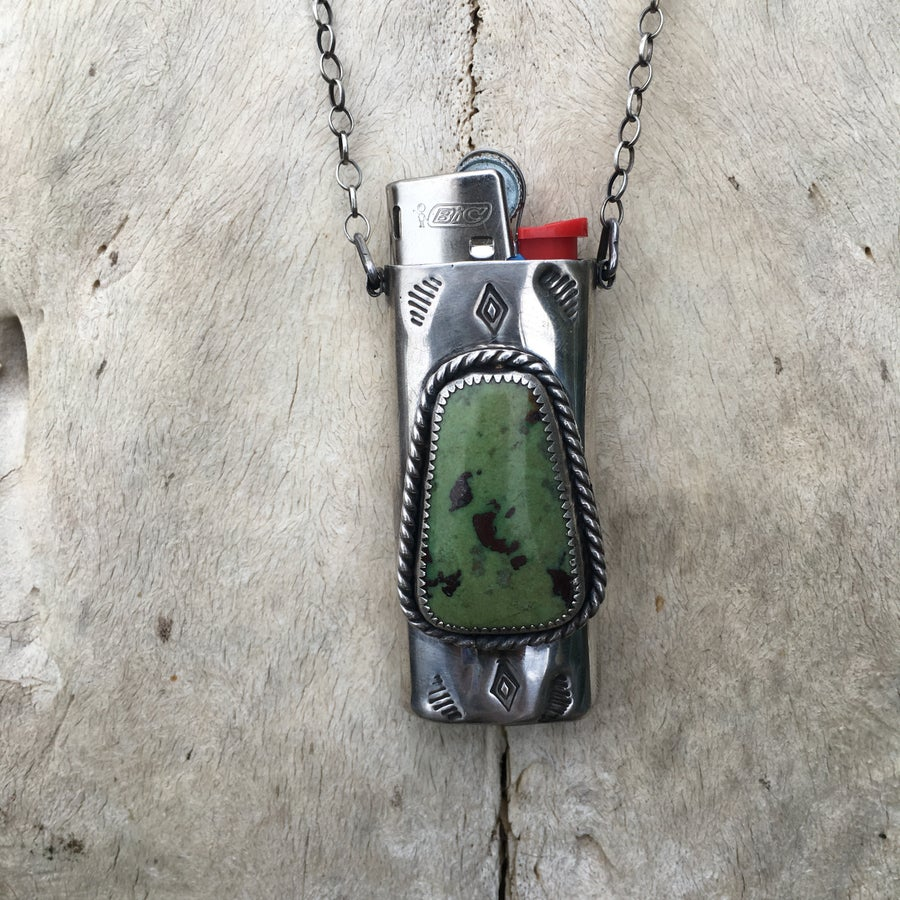 Image of SONORA CACTUS MINI LIGHTER NECKLACE