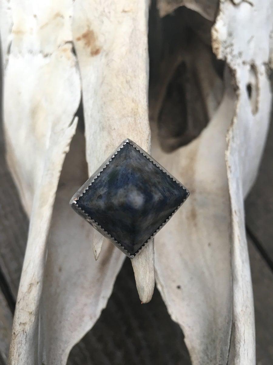 Image of SODALITE PYRAMID RING
