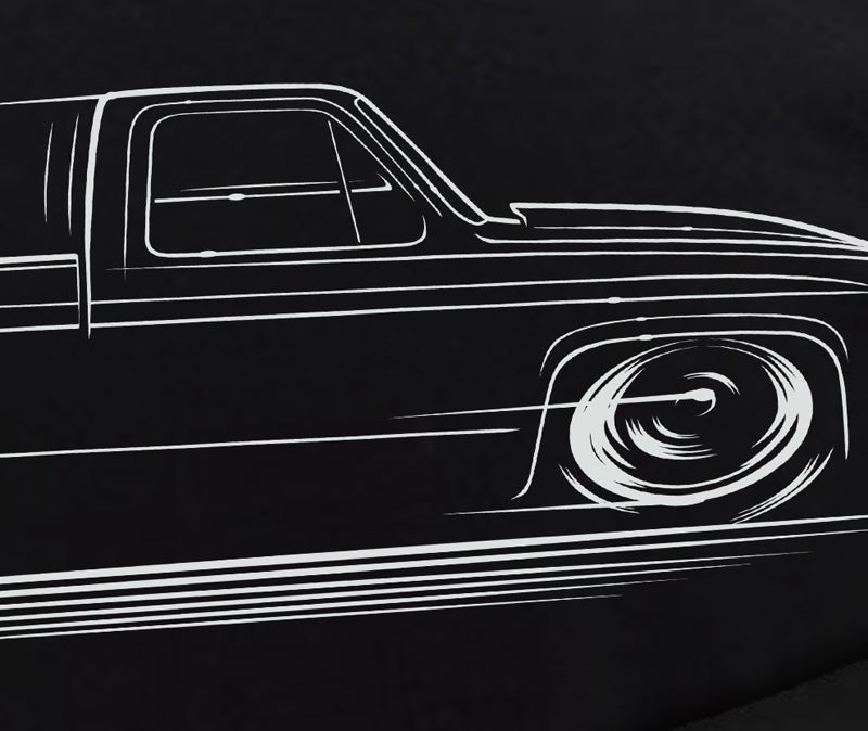 Image of Square Body Chevy Truck Shirts & Hoodies