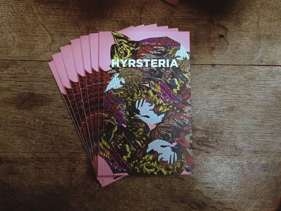 Image of HYRSTERIA Zine 1st Edition