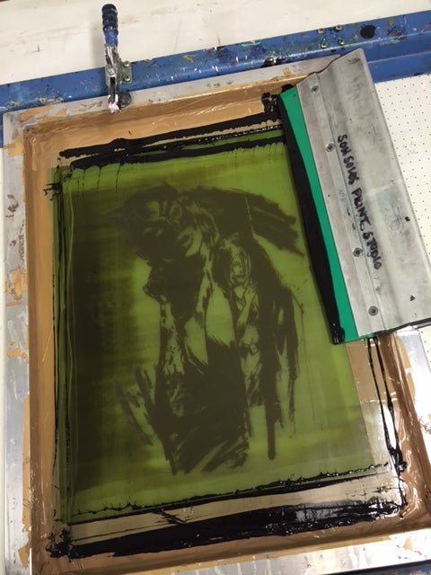 Image of Extremely Limited Hand Pulled Screen Print