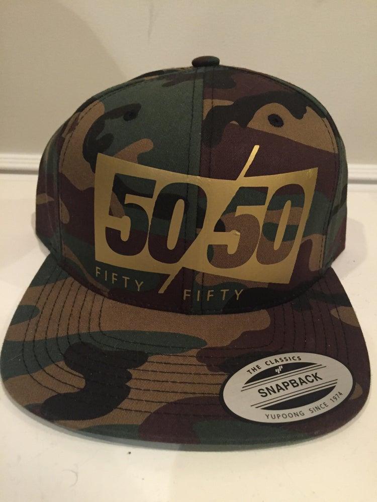 Image of 50/50 Camo Hat