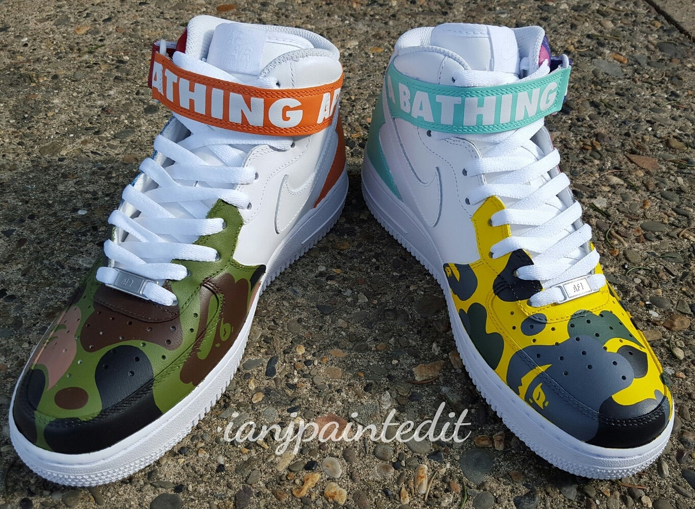 """Image of """"What The"""" Ape Camo Mids"""