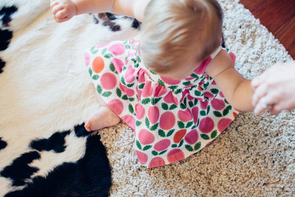 "Image of Sophie & Lili for HoM ""vintage"" floral organic cotton Mia tank dress"