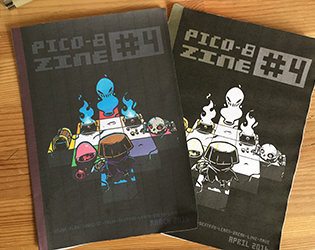 Image of PICO-8 fanzine #4 special ROGUELIKE