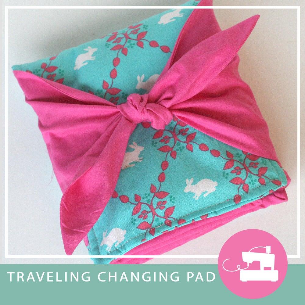 Image of Traveling Changing Pad PDF sewing pattern