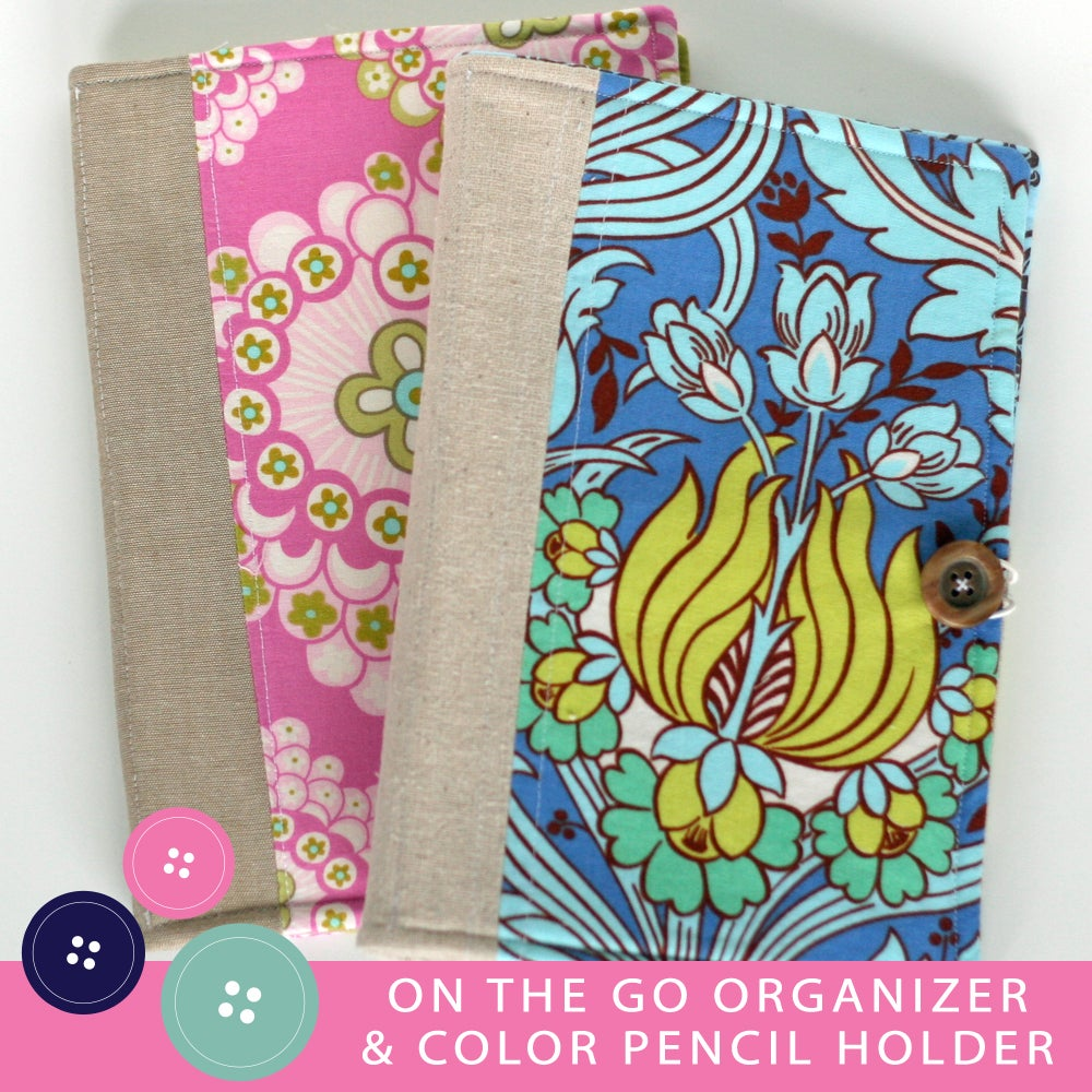 Image of On The Go Organizer PDF Sewing Pattern