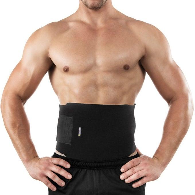 Image of 'Alpha man' Ultimate men's waist trainer slimming belt.