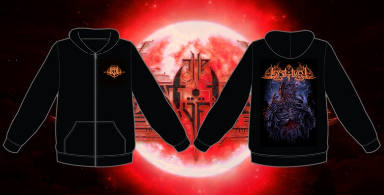 Image of LIGHTNING MELTED FLESH HOODIE
