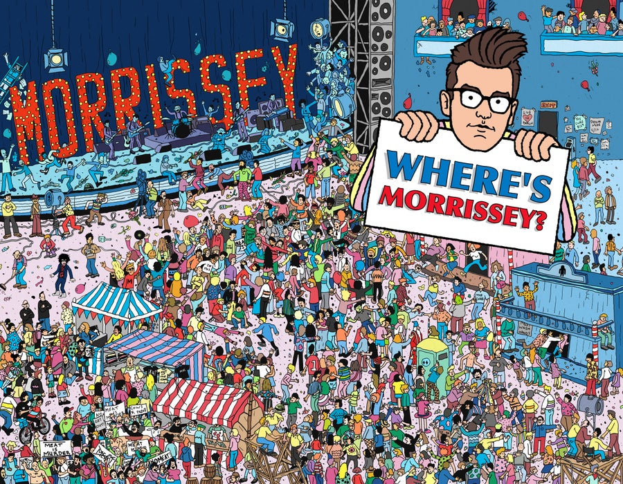Image of Where's Morrissey? Print + Postcard Set