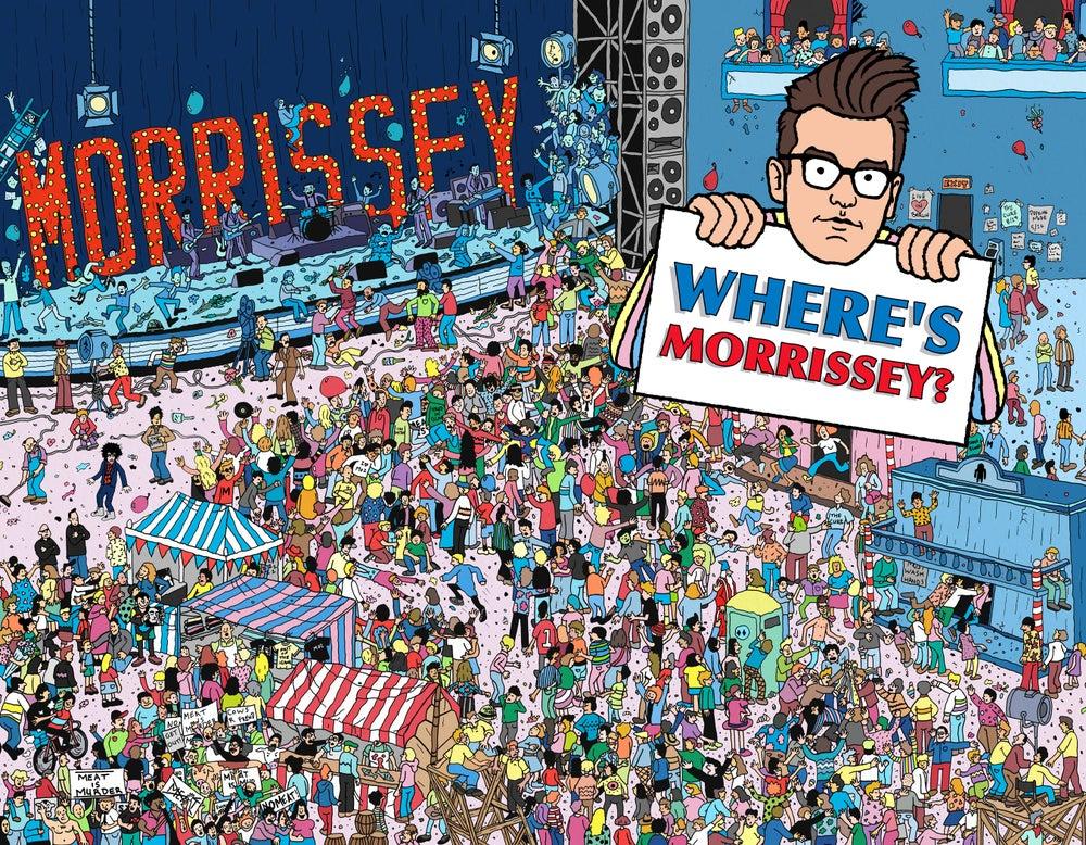 Image of Where's Morrissey? Print + Postcard Set