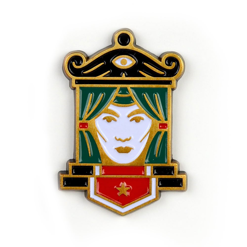 Image of Fortune Teller Pin
