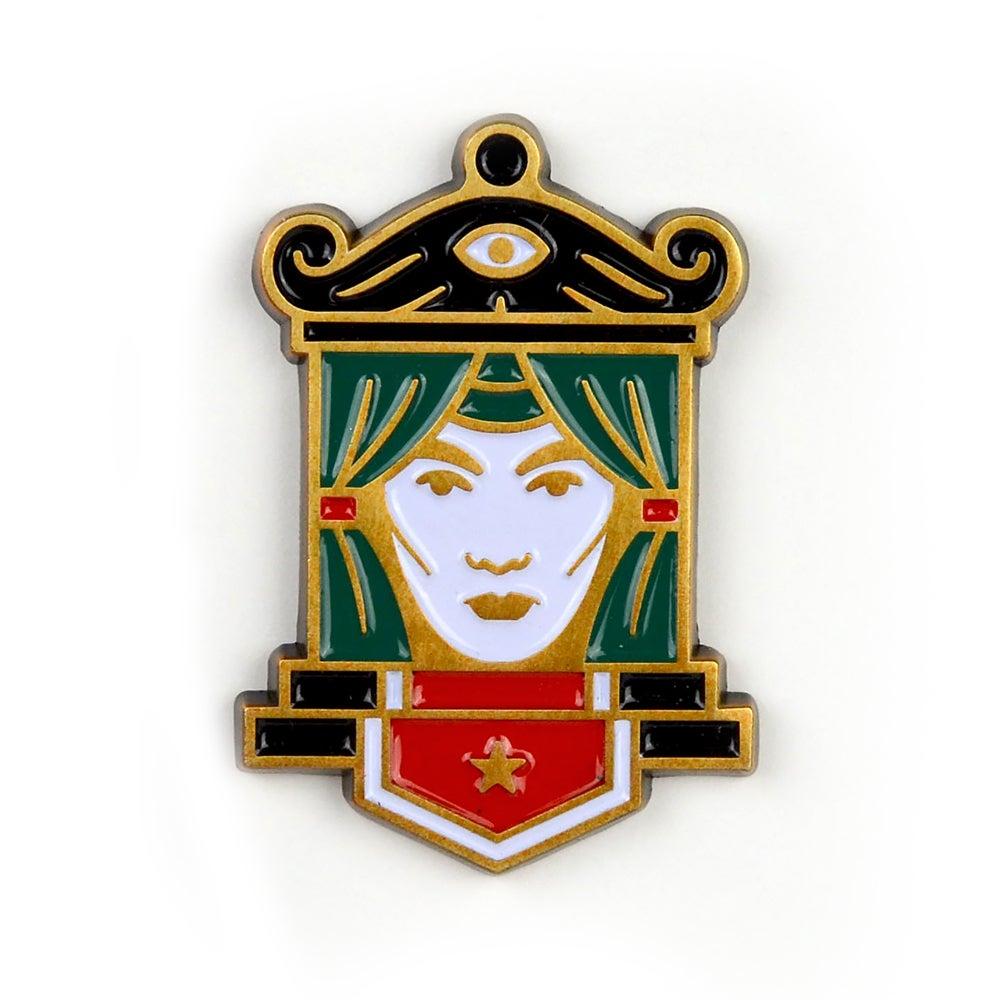 Image of Fortune Teller Pin