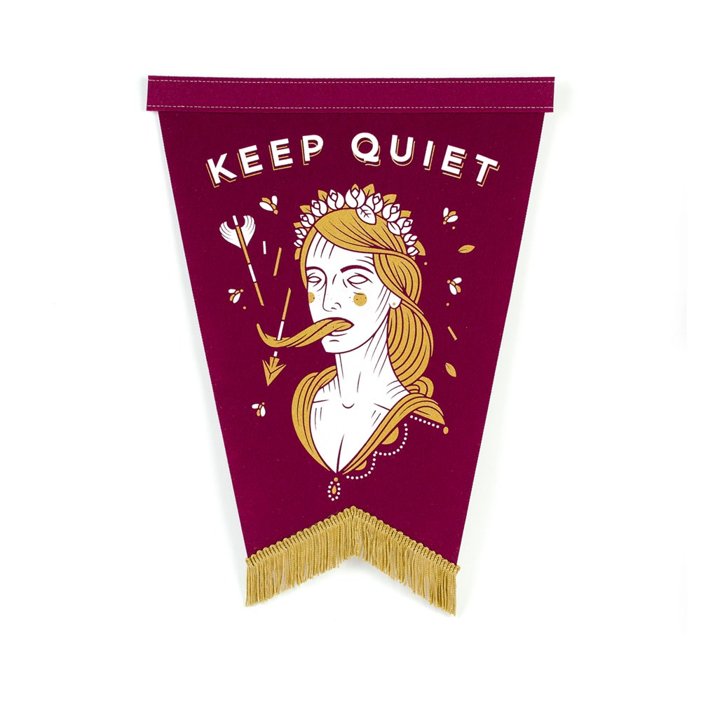 Image of Keep Quiet Pennant